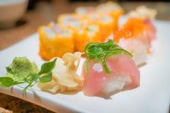 Sushi délicieux Photographie stock libre de droits