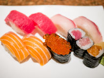 Sushi délicieux Image libre de droits