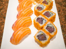 Sushi délicieux Photos libres de droits