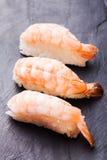 Sushi d'Ebi avec la crevette Photos stock