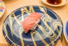 Sushi d'Otoro [gras de thon, Maguro] Photographie stock libre de droits