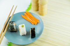 Sushi d'un plat Photo libre de droits