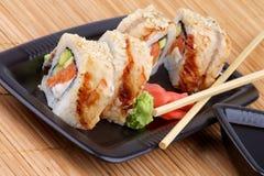 Sushi d'Unagi Photos libres de droits