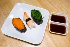 Sushi da mistura Imagem de Stock