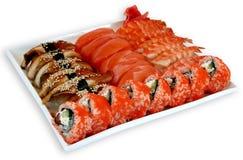 Sushi da refeição da culinária de Japaneese foto de stock