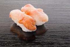 Sushi de Aka Gai Fotografía de archivo