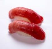 Sushi de Akami (atum) Fotografia de Stock Royalty Free