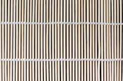 Sushi de bambu que rola Mat Texture Fotos de Stock