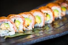 Sushi de boeuf de Matsusaka et de wagyu Photographie stock