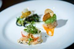Sushi de cena fino Fotos de archivo libres de regalías
