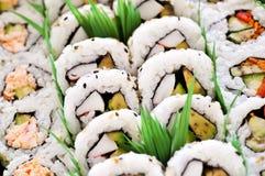 sushi de champ de cablage à couches multiples Photo stock