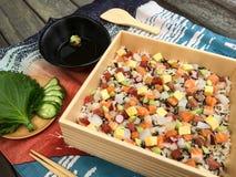 Sushi de Chirashi Photos libres de droits