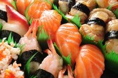 Sushi de color salmón fotografía de archivo libre de regalías