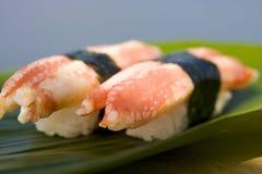 sushi de crabe Image stock