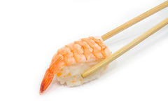 Sushi de crevette rose Photos stock