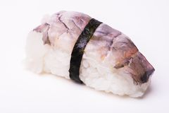 Sushi de crevette rose d'Ebi Nigiri Photographie stock libre de droits