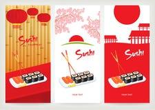 Sushi de drapeau Image libre de droits
