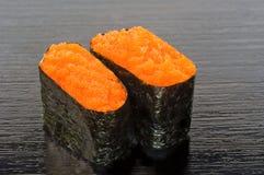 Sushi de Ebiko Fotografía de archivo libre de regalías