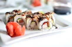 Sushi de Fujiyama fotografía de archivo libre de regalías