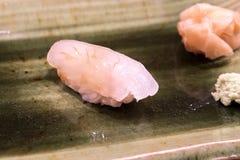 Sushi de Hirame Photos stock