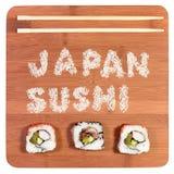 Sushi de Japão Imagens de Stock