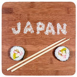 Sushi de Japão Fotos de Stock Royalty Free