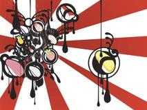 Sushi de Japón ilustración del vector