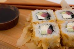 Sushi de Japón Imagen de archivo libre de regalías