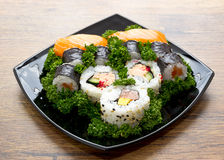 Sushi de Japón Fotografía de archivo libre de regalías