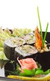 sushi de Japonais de cuisine Image stock