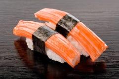 Sushi de Kani Fotos de archivo