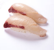 Sushi de Kanpachi (Amberjack) Fotografia de Stock
