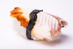 Sushi de la anguila Imagen de archivo libre de regalías