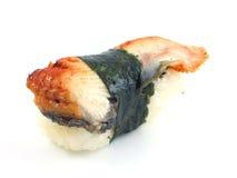 Sushi de la anguila Fotografía de archivo
