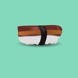 Sushi de la anguila la comida japonesa libre illustration