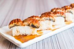 sushi de la anguila (unagi) foto de archivo libre de regalías