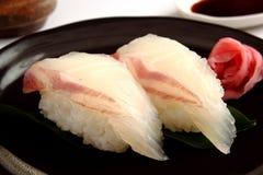 Sushi de la brema Imágenes de archivo libres de regalías