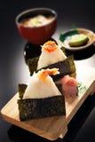 Sushi de la gamba Foto de archivo libre de regalías