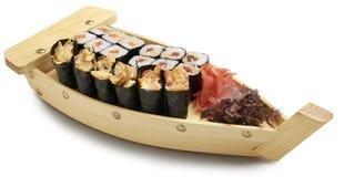 Sushi de la mezcla del japonés Fotografía de archivo libre de regalías