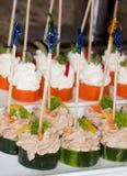 Sushi de lujo imagen de archivo