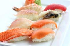Sushi de mélange Photos libres de droits