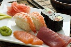 sushi de mélange Image libre de droits
