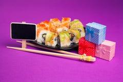 Sushi de Maki Fotografía de archivo
