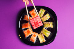 Sushi de Maki Imagenes de archivo