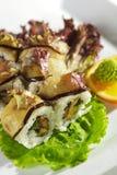 Sushi de Maki - rolo do outono Fotografia de Stock