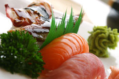 Sushi de Nigiri Imagem de Stock Royalty Free