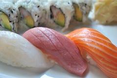 Sushi de Nigiri Fotos de archivo libres de regalías