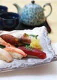Sushi de Nigiri Fotografía de archivo libre de regalías