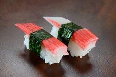Sushi de Niguiri Imágenes de archivo libres de regalías