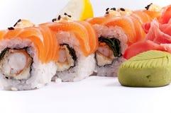 Sushi de pescados Fotos de archivo